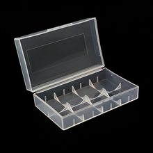 10pcs /lot Very Cheap 21700/20700 battery case portable plastic dual box for 21700 Storage Case Box Holder AA AAA