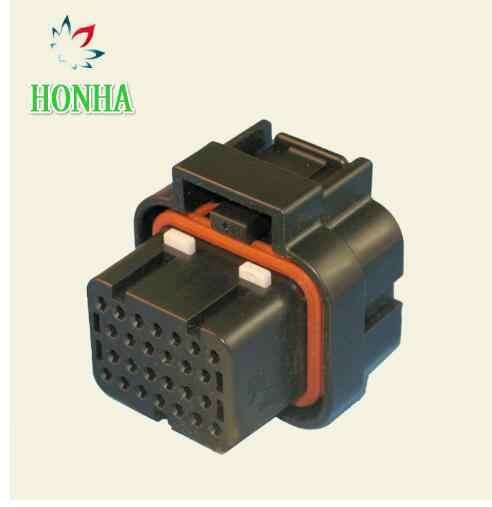 Envío gratis 1 set 26pin tyco auto computadora ecus conector 26 forma de aceite de gas de conector de 3-1437290-7