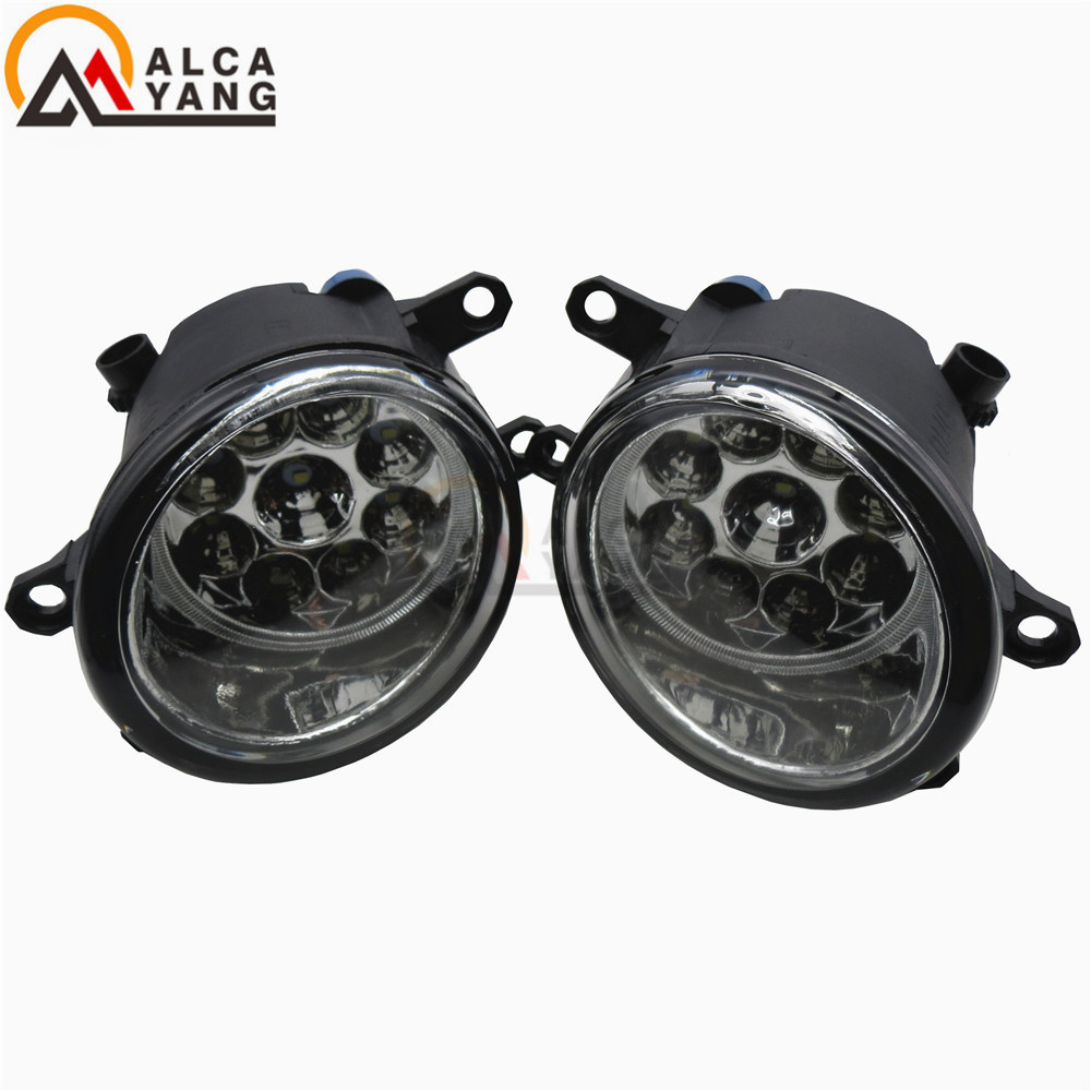 Fog Lamp Assembly high brightness Fog Light For Toyota Allion Prius Yaris Auris Previa Vios yaris 2006-2014 Led Fog Lights 1set