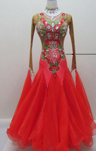 ballroom dance competition dresses Red ballroom dance dresses standard ballroom dress waltz dresses