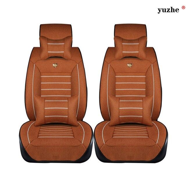 2 Unids Ropa De asiento de coche Para Citroen C3-XR 2015 C-elysee 2015-2013 C4 Aircross Picasso C3 C3-XR C4L C5 accesorios car styling