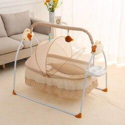 Портативная подвесная детская кроватка в сетку, складная кровать для новорожденных, Комплект постельного белья для детской кроватки