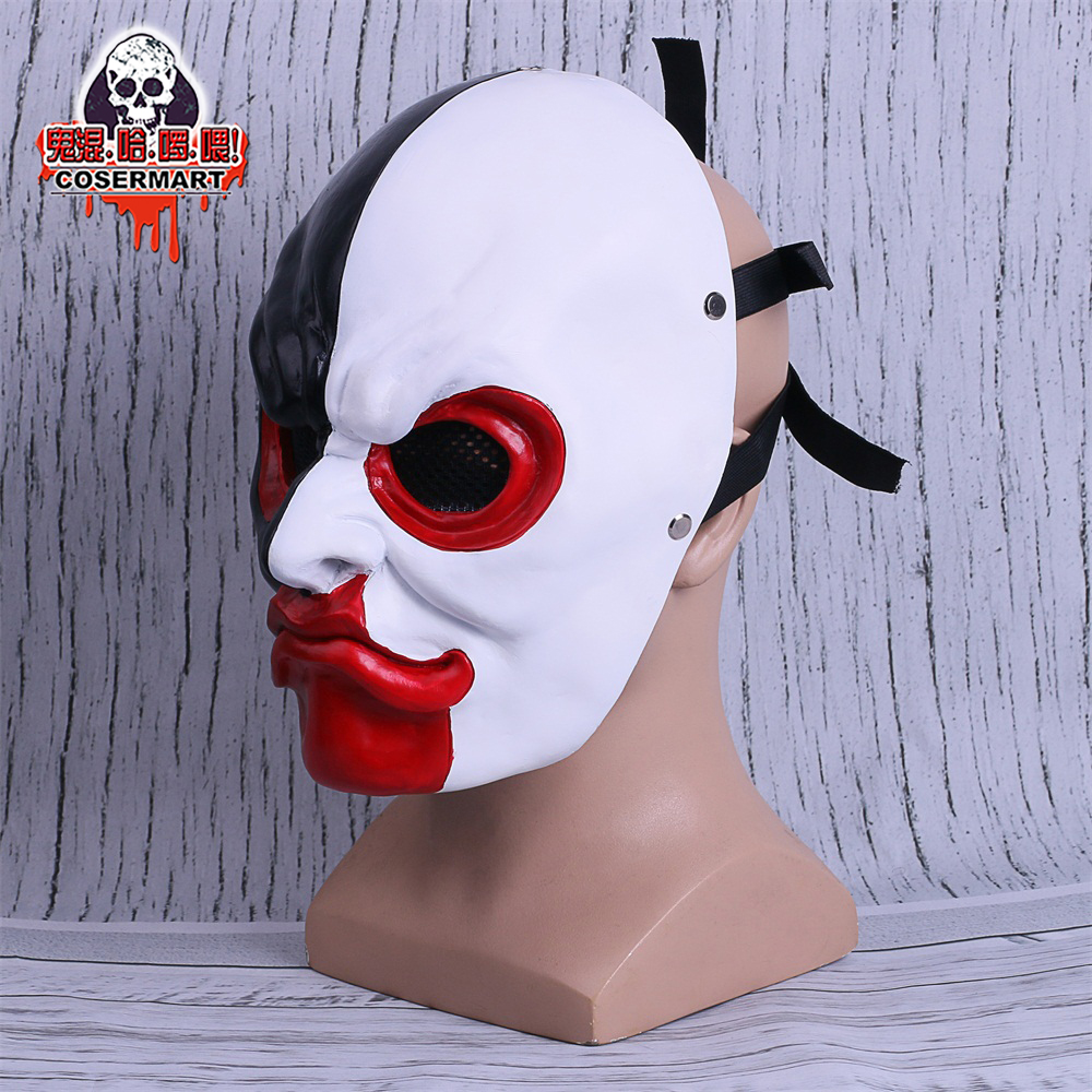 PAYDAY 2 Mask Scar Scarface Masks Game Payday 2 mask Cosplay Resin Halloween Party Prop (5)