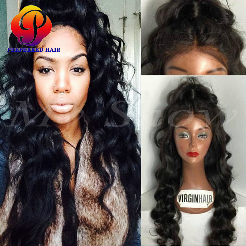 Glueless Ponytail Full Lace Wigs Sew In Lace Front