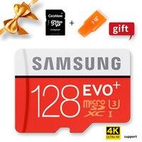 SAMSUNG 100% Original Genuine EVO Plus Microsd Cards Memory Card 128GB Micro SD TF Flash Card