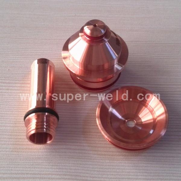 220187 Electrode 10pcs 220188 Nozzle 10pcs 220189 Shield 5pcs per lot for Plasma Consumable