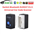 Full Track Firmware V1.5 MINI ELM327 Bluetooth Power Switch ELM 327 OBD2 Diagnostic Scanner For All OBDII Protocol Free Shipping