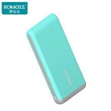 Arrow20 ROMOSS Power Bank 20000 мАч Портативный 2.1A Быстрая Зарядка Литий-полимерный Аккумулятор 2 USB Порт Для iphone7plus Xiaomi5 Huawei Meizu