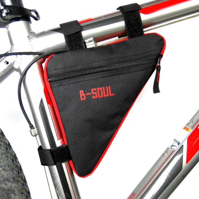 Waterproof Triangle Cycling Bicycle Bags Front Tube Frame Bag Bike ...