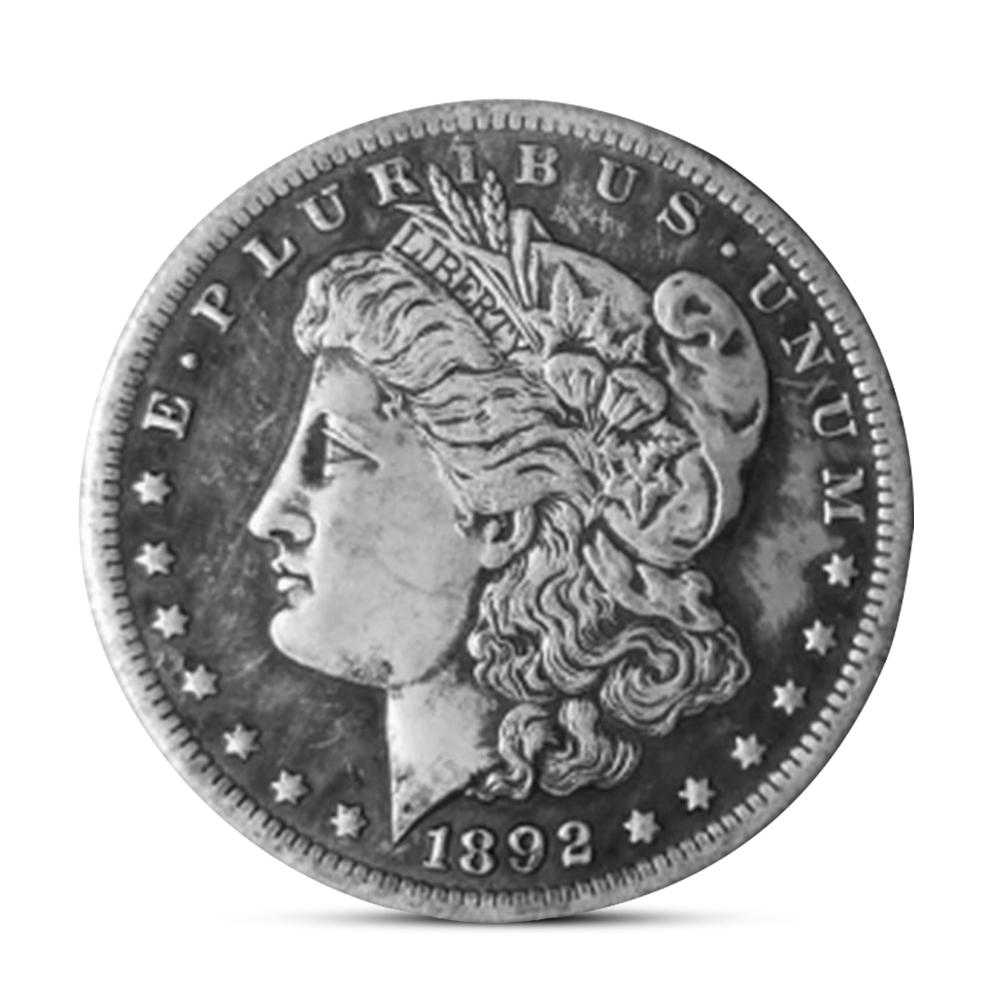 1892 Old Morgan US Dollar Commemorative Coins Collectibles Handmade Crafts Gift Hot