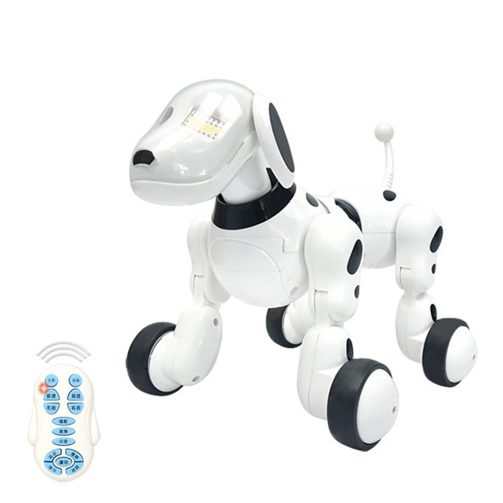 Intelligent RC Robot Dog Toy Smart Electronic Pets Dog Kids Toy Cute Animals RC Intelligent Robot Gift Children Birthday Presen