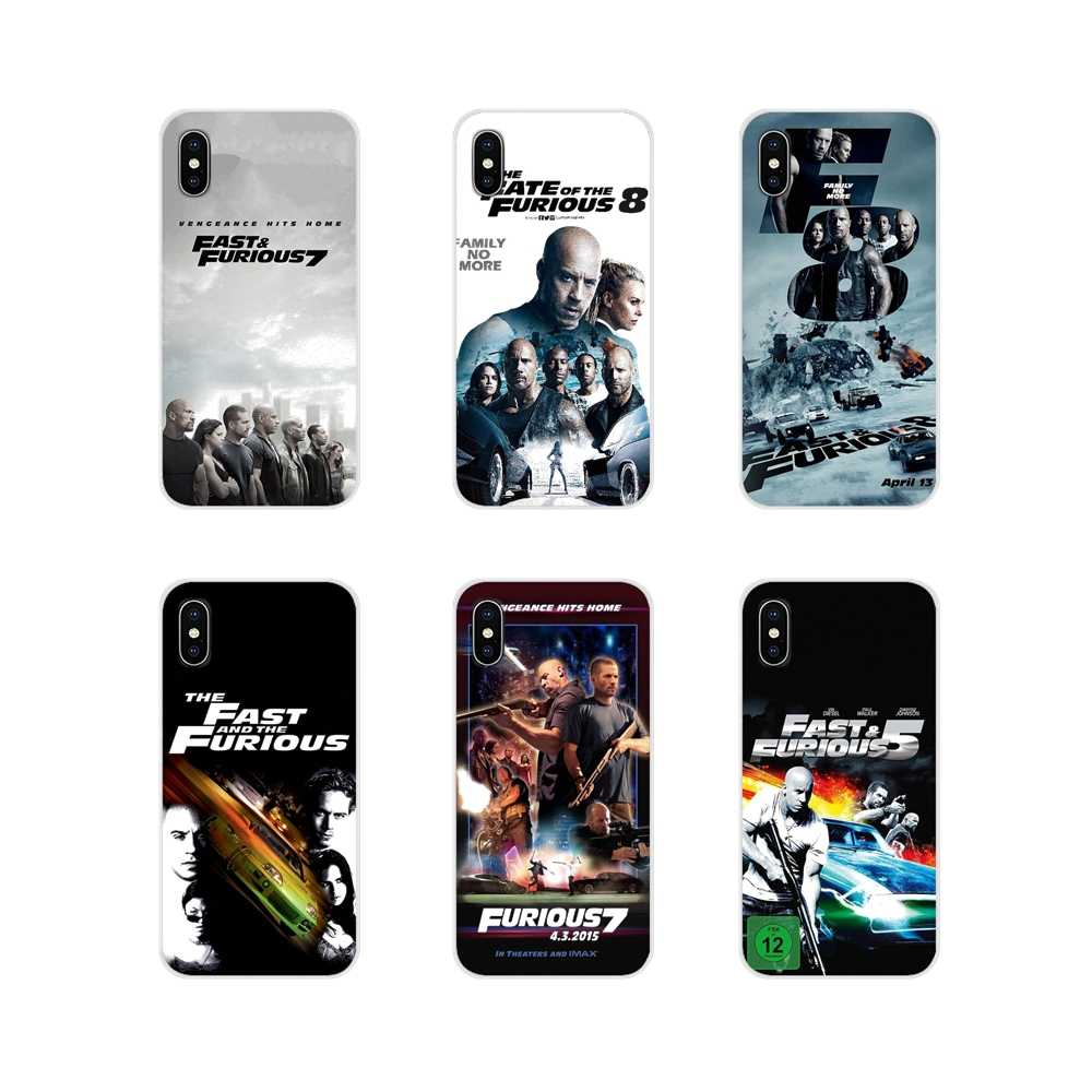 Voor Apple iPhone X XR XS MAX 4 4 S 5 5 S 5C SE 6 6 S 7 8 plus ipod touch 5 6 De Snelle En De Furious Accessoires Telefoon Shell Gevallen