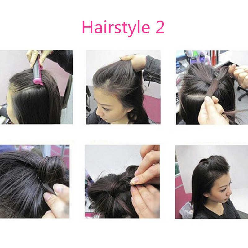 0850929b Accesorios de herramientas de estilo de pelo negro de Metal para el cabello  de 2 piezas