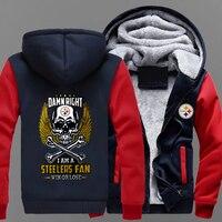 Newest Trend Men Clothing Sweatshirt Jacket NFL FOOTBALL TEAM Long Sleeve Leisure Hoodies Zipper Tops Women