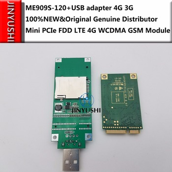 JINYUSHI for ME909S-120 +Pcie to USB transfer card  100% NEW&Original  Mini PCIe FDD LTE 4G WCDMA GSM Support GPS Module