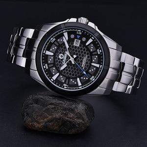 Image 4 - レロジオmasculino casimaミリタリークォーツ腕時計メンズ太陽エネルギー充電サファイア腕時計カレンダー時計男性saat montreオム