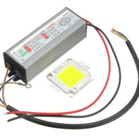 High Power 100W LED Lamp Integrated Chip COB with Waterproof LED Driver for DIY Led Floodlight Driver Spotlight