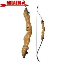 1 pc 60 pouces 40lbs tir à larc classique arc droit F1 chasse arc à emporter extérieur chasse tir cible pratique accessoires