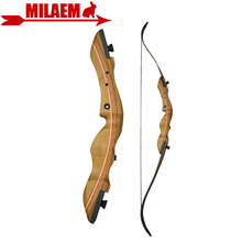 1pc 60inch 40lbs Archery Recurve Bow Right Hand F1 Hunting Bow Takedown Outdoor Hunting Shooting Target Practice Accessories