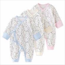 8a19591b6 Ropa del Bebé Ropa overoles primavera y otoño algodón climb 0 años 3 meses  Otoño e Invierno pijamas mameluco recién nacido