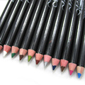 Different Color Eyeliner Pen Eye Shadow Pencil Ultra Waterproof Eyebrow Makeup Tools 12 Pcs/Set