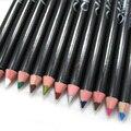 Different Color Eyeliner Pen Eye Shadow Pencil Ultra Waterproof Eyebrow Makeup Tools 12 Pcs/Set