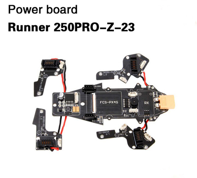 Walkera Power Board Runner 250PRO-Z-23 for Walkera Runner 250 PRO GPS Racer Drone RC Quadcopter original walkera devo f12e fpv 12ch rc transimitter 5 8g 32ch telemetry with lcd screen for walkera tali h500 muticopter drone