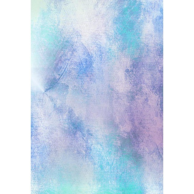 Pastel Blue Purple Watercolor Backdrop for Photography Newborn Baby