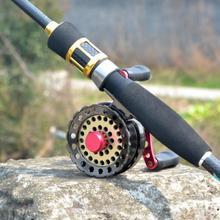 Алюминиевая аллоиметаллическая катушка для ловли нахлыстом, левая/правая, сменная передняя часть, рыболовное плот, колесо, рыболовные принадлежности# S