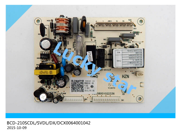 95% new for Haier refrigerator computer board circuit board BCD-210SCDL/SVDL/DX/DCX 0064001042 driver board good working 95% new for haier refrigerator computer board circuit board bcd 219bsv 229bsv 0064000915 driver board good working