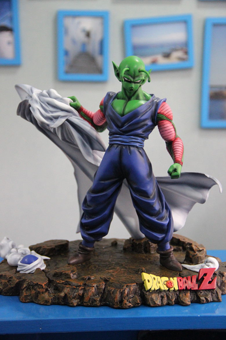 MODEL FANS Original NEW Dragon ball 30cm Piccolo GK resin model doll Action Figure Collection Model Toy new kiki gigi bakery kiki s delivery service reconstruction animiation action figure doll house kid toy miniature diorama model