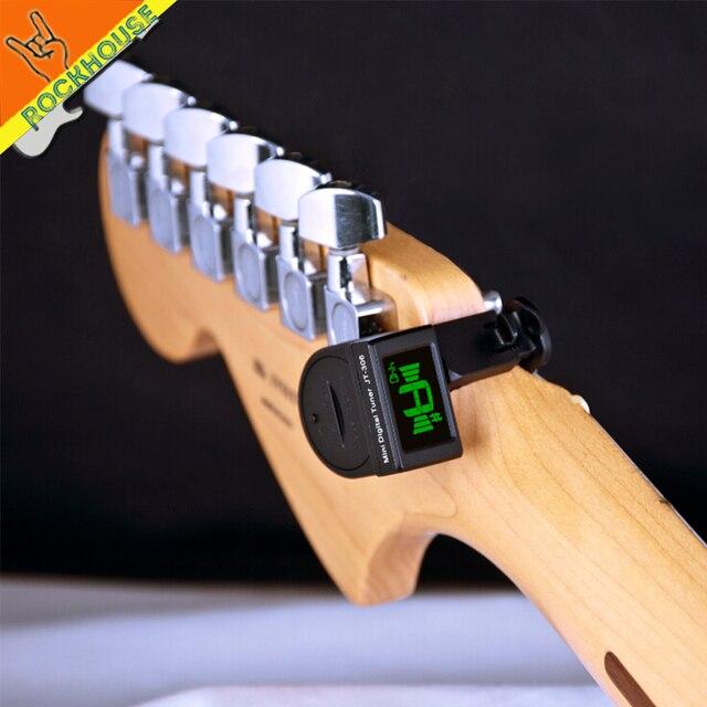 Clip On Guitar Tuner >> Joyo Jt 306 Mini Guitar Tuner Digital Music Lcd Clip On Electronic