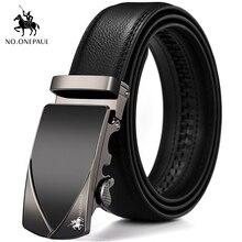 NO.ONEPAUL Men's new belt designer design new exclusive appearance buckle pure l