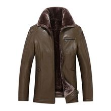 2016 new winter vogue famous person leather-based jacket high-quality males's Unique Free Transport