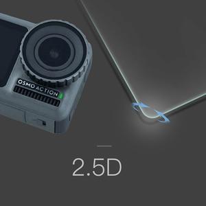Image 5 - Temperli cam film Lens ekran patlamaya dayanıklı film için DJI OSMO EYLEM motion spor kamera Aksesuarları