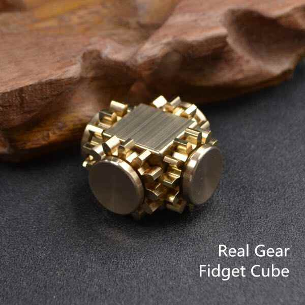 ... Super Mini Four Gear Cube Finger Hand Spinner Help ADD ADHD Sufferers  Relieve Stress Anxiety Autism ...