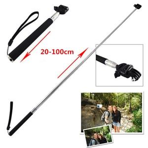 Image 5 - ORBMART Extendable Handheld  Selfie Stick Monopod + Mount Adapter For Gopro Hero 5 4 3 3+ 2 SJ4000 Xiaomi Yi Sport Action Camera