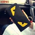 New arrival cute carton Funny  Cartoon women wallet long pattern women purse women card holder zipper design brand coin purse