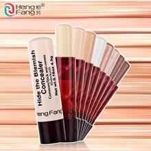 Hengfang 8 шт./компл. порока Фонд хайлайтер маскирующий крем база для лица макияж ручка карандаш Косметическое покрытие Face Primer
