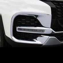 Lsrtw2017 Carbon Fiber Abs Car Headlight Trim Frame for Chery Tiggo 8 2018 2019 2020