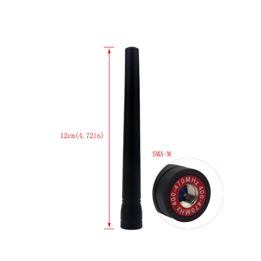 Retevis RT8 Antenna UHF 400-470MHz Short 4.72in SMA-M Antenna For Retevis RT8 Two Way Radio Walkie Talkie Hf Transceiver J9115D