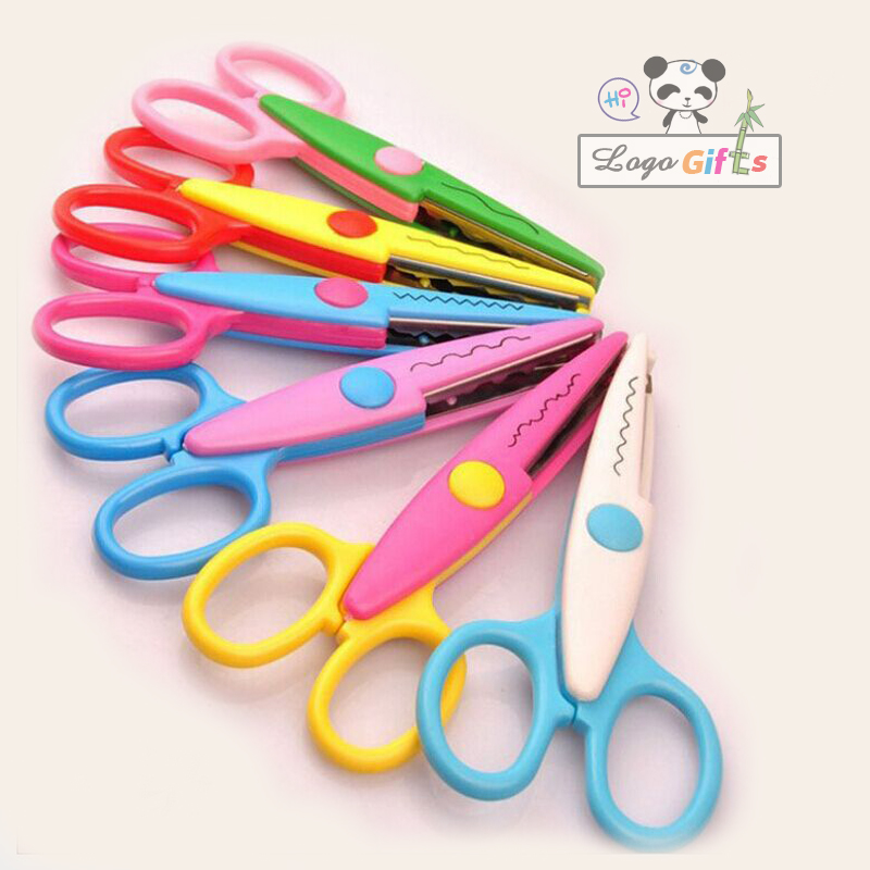 Kawayii Utility Knife 6 Colors Wave Marking Tool Invitation Cards Decorations Knife For DIY School And Office Supplies