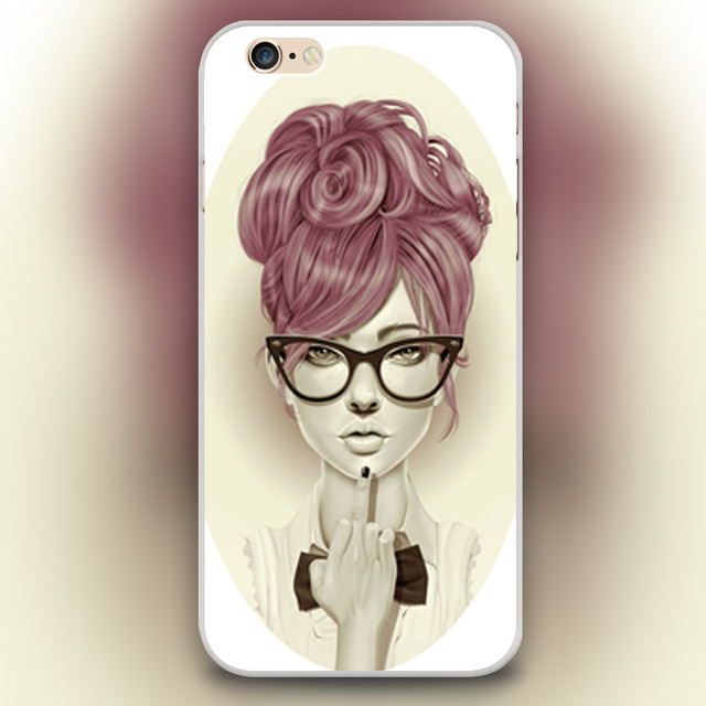 the best attitude ffe56 b553f US $2.28 |Fashion girl middle finger Design transparent case cover cell  mobile phone cases for iphone 4 4s 5 5c 5s 6 6s 6plus hard shell on ...
