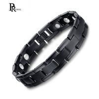 8 5 Titanium Bracelet Men Jewelry Bio Energy Magnetic Healing Blood Pressure Christmas Gift Dropshipping