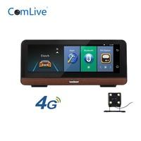 Camlive E03 car mirror recorder 8 4G ADAS dual cams HD1080P GPS navi bluetooth WIFI android 5.1 dashboard mirror car camera