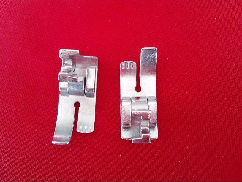 Části strojů pro domácí šicí stroje přítlačná nožka středová čára # 719L nízká stopka