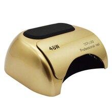 2018 Новый 48 Вт CCFL УФ светодио дный Светодиодная лампа для ногтей Сушилка для ногтей Гель-лак для ногтей Лечение ультрафиолет для ногтей лампа сушилки для маникюра Инструменты