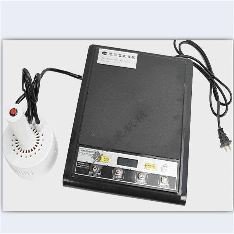 Hand-held electromagnetic induction sealing machine 500E for medical plastic bottle cap induction sealer machine 20mm-100mm 220V  цены