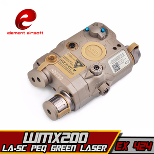 Image 5 - EX424 Element SF LA 5C PEQ UHP Appearance Green laser& WMX200 Flashlight &Double Remote Control Airsoft Flashlight combination