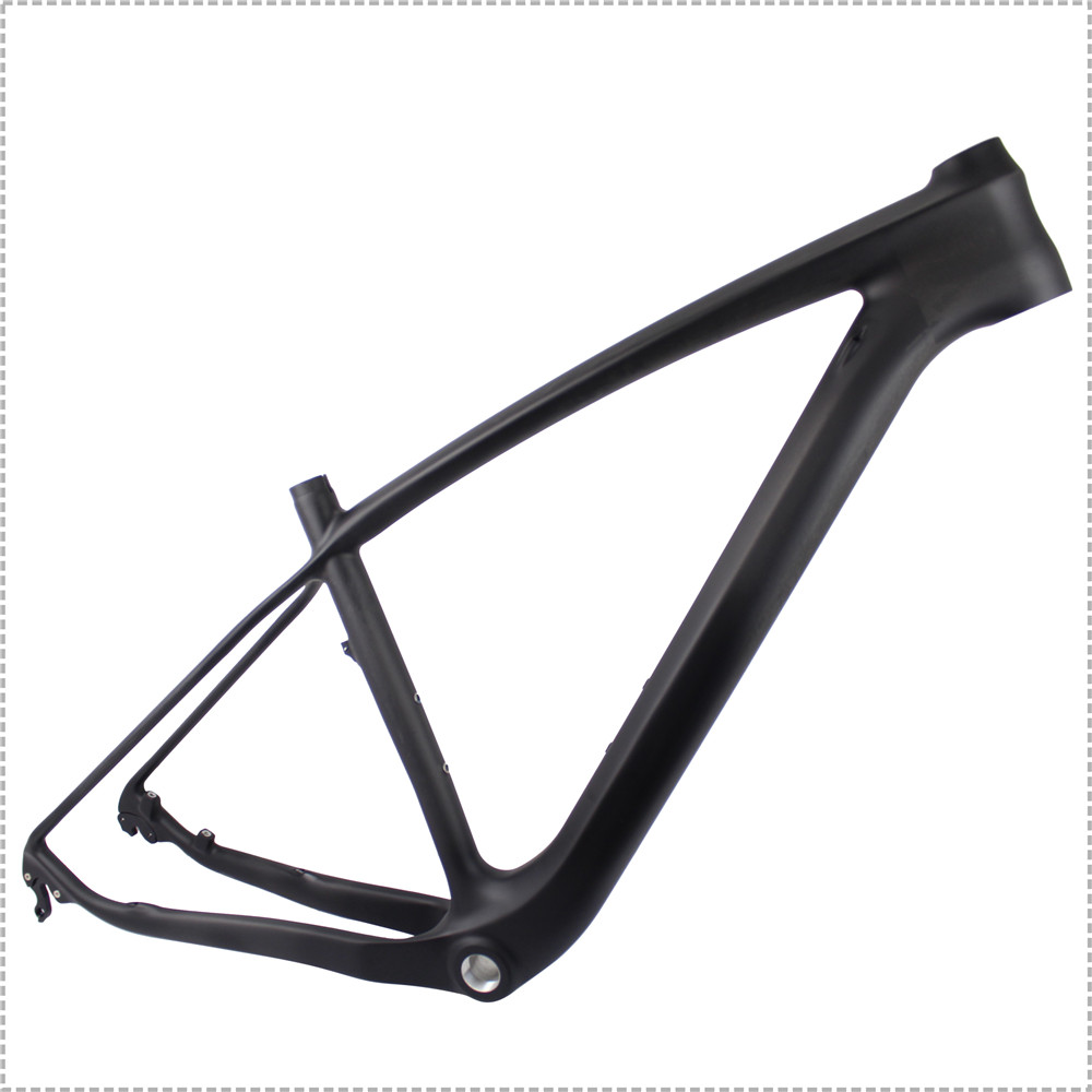New Carbon Mountain 29er Frame BSA Or BB30 With 12x142 Axle Thru MTB Bicycle Frame FM056